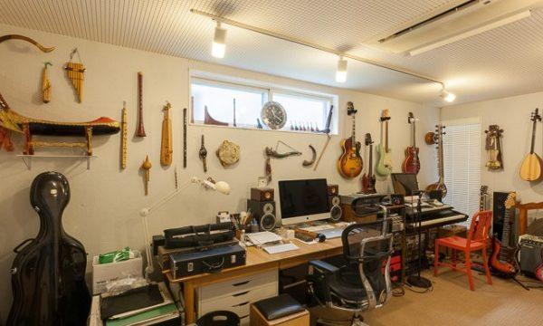 東儀秀樹のスタジオ