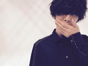 米津玄師の黒髪