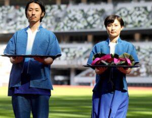 オリンピック衣装の画像