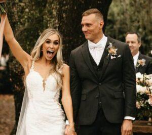 ケレブ・ドレセル選手とメーガンの結婚式
