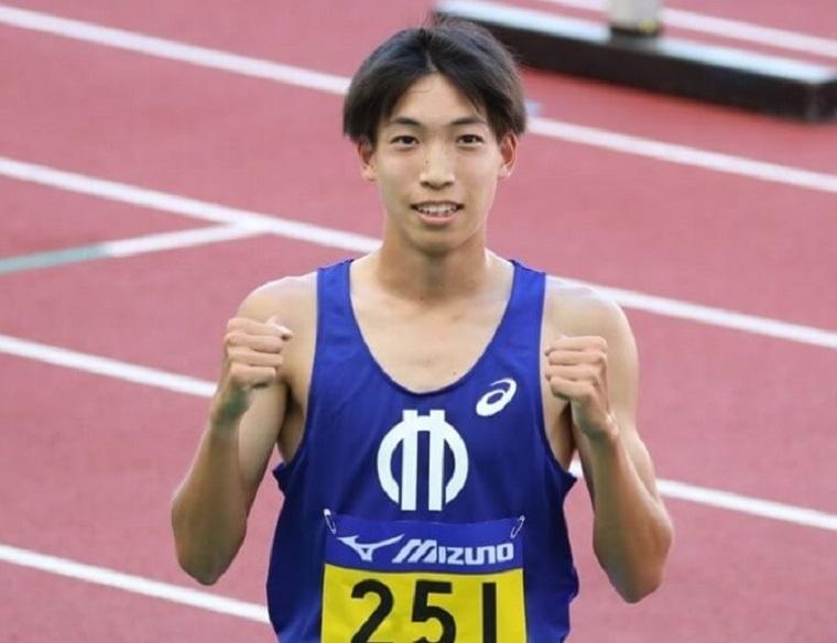 三浦龍司選手の画像