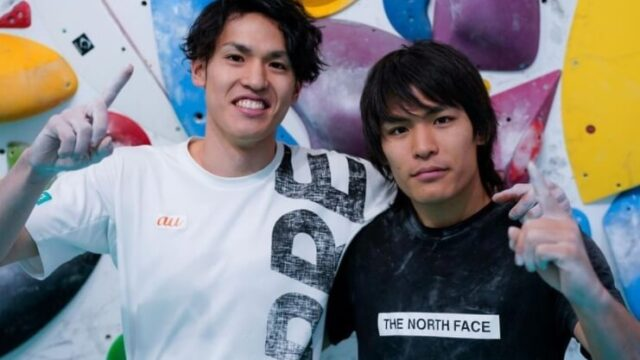 楢崎智亜選手の兄弟の画像