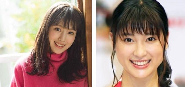 土屋太鳳と福本莉子の画像